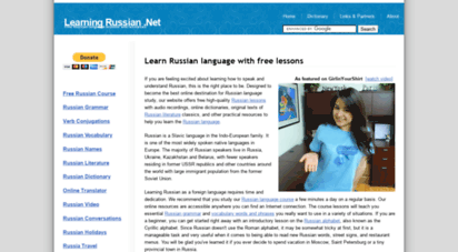 learningrussian.net - learn russian - russian language lessons and culture
