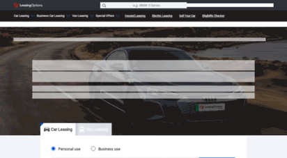 Welcome To Leasingoptions Co Uk Car Leasing Deals Lease Cars