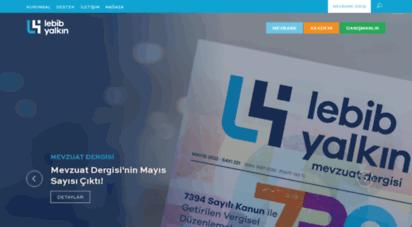 lebibyalkin.com.tr - lebib yalkın - güncel mevzuat ve içtihat vergi, iş hukuku, sosyal güvenlik, ticaret, dış ticaret, gümrük, isg, çevre, gıda ..