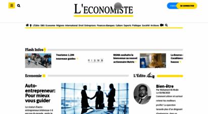 leconomiste.com - l´economiste  le premier quotidien économique du maroc