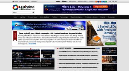 ledinside.com - ledinside, a leading platform for led, led lighting and led market research
