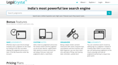legalcrystal.com - legalcrystal-india´s most powerful law search engine