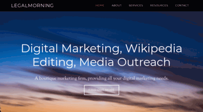 legalmorning.com - professional writing services, wikipedia editing, seo services, and wikipedia article writer.