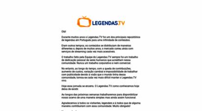 legendas.tv - legendas tv