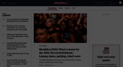lehighvalleylive.com - lehigh valley news, easton news, bethlehem news, allentown news, phillipsburg news and lehigh valley sports & weather