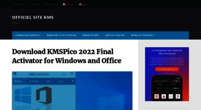 lekms.com - télécharger kmspico 2020 activator pour windows et office ✅