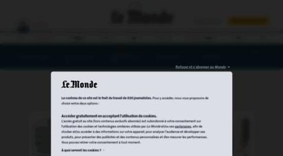 lemonde.fr - le monde.fr - actualités et infos en france et dans le monde