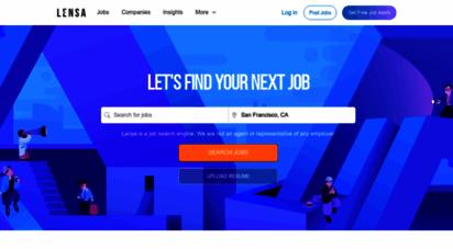 lensa.com - search jobs online - lensa