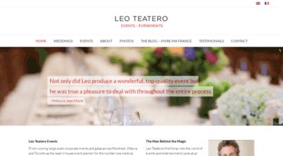 leoteatero.com - leo teatero events large scale event management personal landmark
