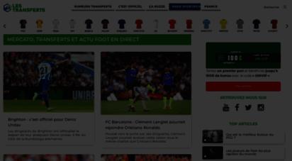 les-transferts.com - les transferts - actu mercato et transfert foot
