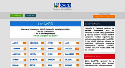 lescard.com - lescard: iş ilanları ve firmalar