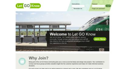 letgoknow.com