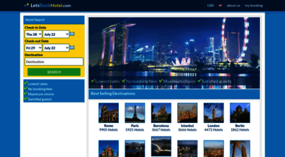 letsbookhotel.com - letsbookhotel.com - worldwide cheap hotel discount experts and late accommodation deals
