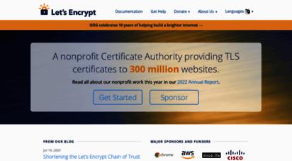 letsencrypt.org - let´s encrypt - free ssl/tls certificates