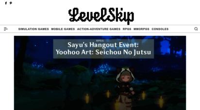 levelskip.com - levelskip - video games