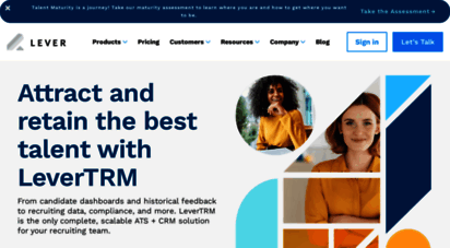 lever.co - recruiting software  lever