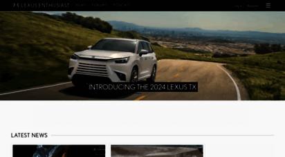 lexusenthusiast.com - lexus enthusiast  lexus news & information blog