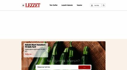 similar web sites like lezzet.com.tr