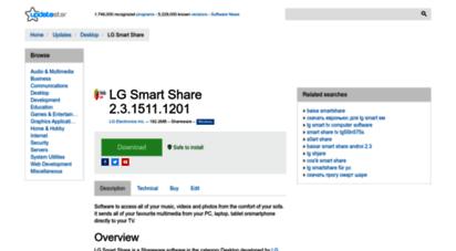 Welcome to Lg-smart-share updatestar com - LG Smart Share