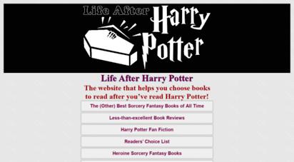 life-after-harry-potter.com - life after harry potter