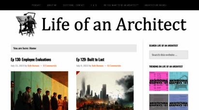 lifeofanarchitect.com