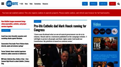 lifesitenews.com - lifesite  life, family & culture news