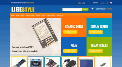 ligestyle.com - ligestyle - board,shield,display screen,relay,smart module