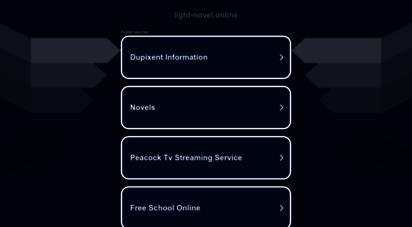 light-novel.online - light novel - the large light novel collection!