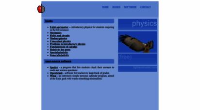 lightandmatter.com - light and matter: open-source physics textbooks