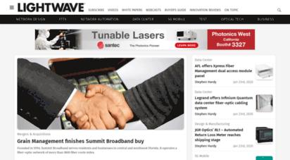 lightwaveonline.com - home  lightwave