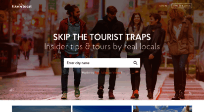 likealocalguide.com - travel tips from real locals - like a local city guide