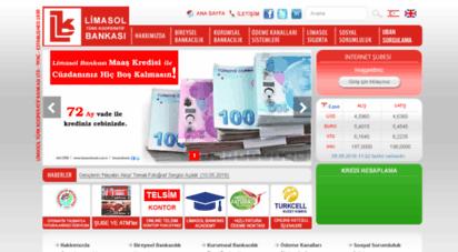 limasolbank.com.tr - anasayfa - limasol türk kooperatif bankası