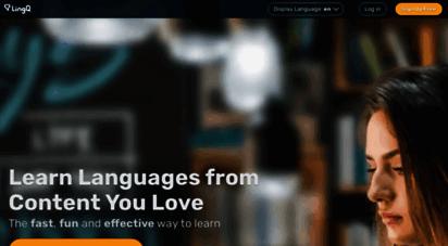 lingq.com - learn languages online  lingq