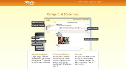 lingr.com - lingr - group chat made easy