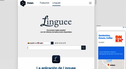 linguee.co - linguee  diccionario español-inglés, entre otros idiomas
