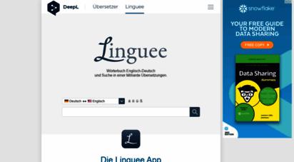 similar web sites like linguee.de
