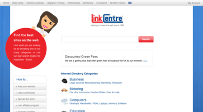 linkcentre.com - link centre internet directory and search engine