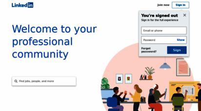 linkedin.com - linkedin: log in or sign up