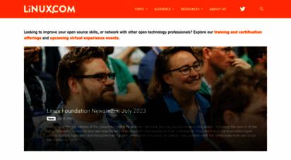 linux.com - linux.com - news for open source professionals