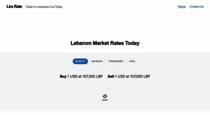 lirarate.com - lebanese lira today usd to lbp in parallel black market  lira rate