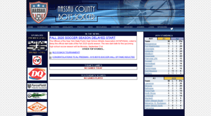lisoccer org Welcome to Lisoccer.org - Nassau County Boys Soccer