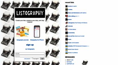 listography.com