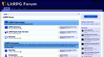 litrpgforum.com - litrpg forum: rpg, books, gaming, anime, and more.