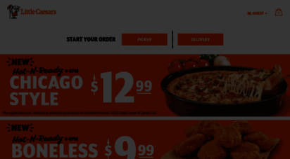 littlecaesars.ca - little caesars pizza canada - pizza franchise opportunities available