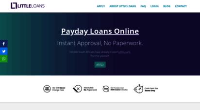 littleloans.co.za - payday loans south africa - littleloans™