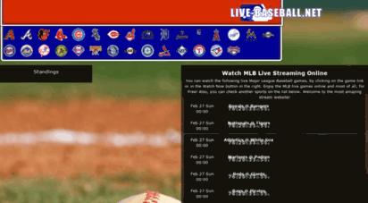 live-baseball.net