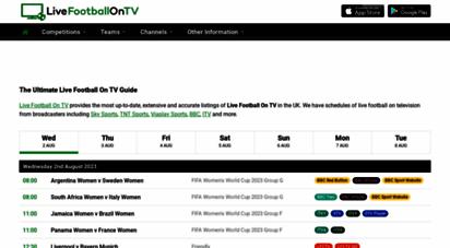 live-footballontv.com