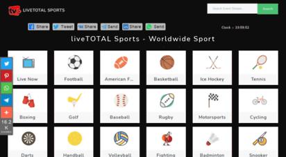 live2all.com - live total - web sports online for free  livetotal sports