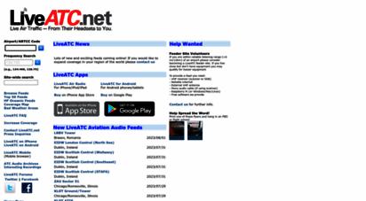 liveatc.net - listen to live atc air traffic control communications  liveatc.net