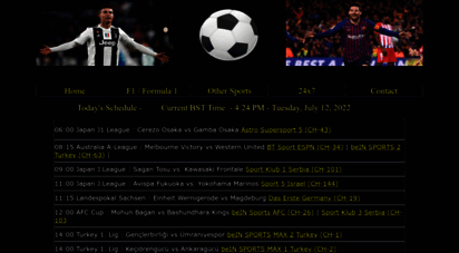 livefootballsite.info - watch live epl football streaming online for free